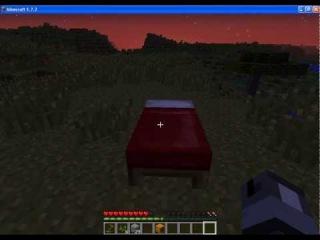 Майнкрафт Как сделать Кровать (Обучение): Minecraft How to make a Bed (Training)