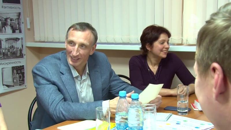 Александр Козловский провел встречу в бизнес-инкубаторе