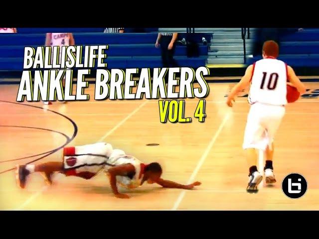 Ballislife Ankle Breakers Vol. 4!! NASTIEST Crossovers, Handles Ankle Breakers!! IT'S BACK!!
