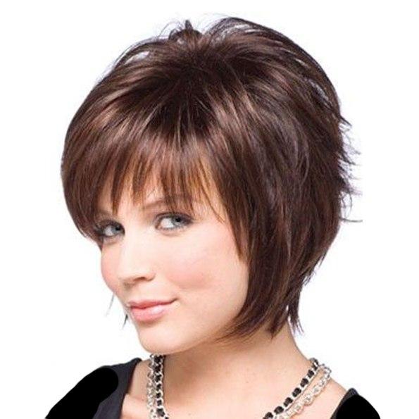 Стрижка на средние волосы на каждый день