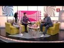 Денис Майданов в программе Утро с нами на канале Первый Крымский