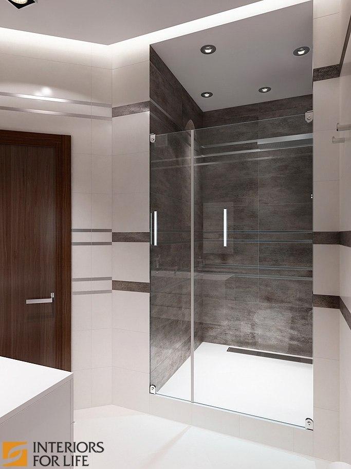 Дизайн однокомнатной квартиры-студии площадью 43 кв.м