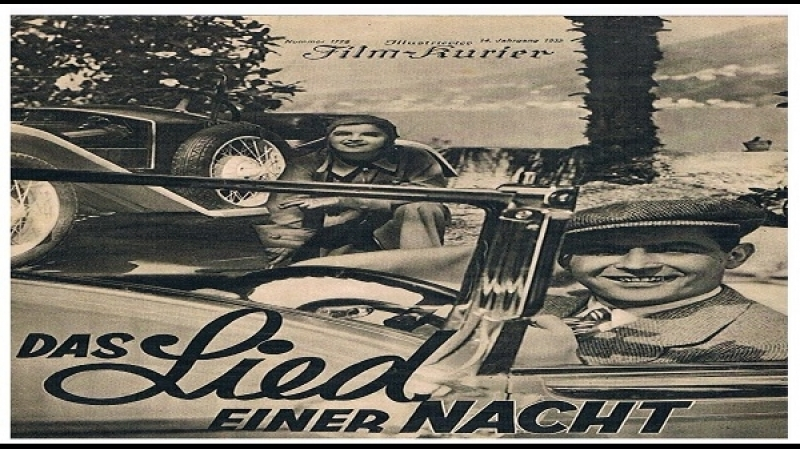 1932- Anatole Litvak -Das Lied einer Nacht - ru -Magda Schneider, Fric Schulz, Ida Vust, Margo Lyon, Julius Falkenstein - YouTub