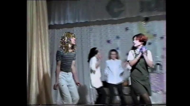 новый год 2000/2001 - в гостях у Аллы Борисовны и Фили