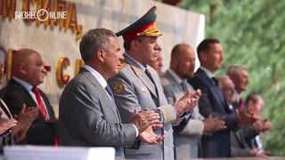 Начальник Генштаба РФ приехал на встречу выпускников Казанского суворовского училища 1973 года