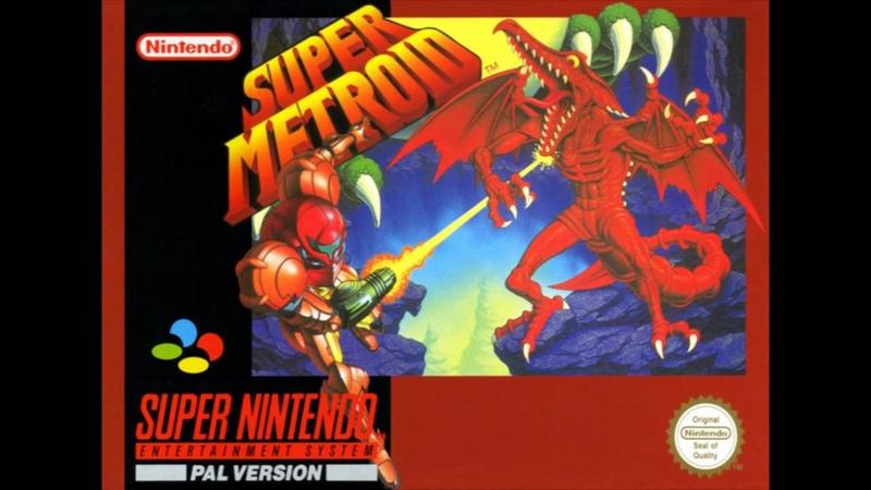 Super Metroid Music - Mother Brain Final Boss Theme