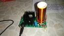 Катушка тесла с аудио модуляцией из Китая схема, качер Бровина
