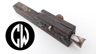 Вторая жизнь сломанного сверла или как из хлама сделать резец для токарного станка