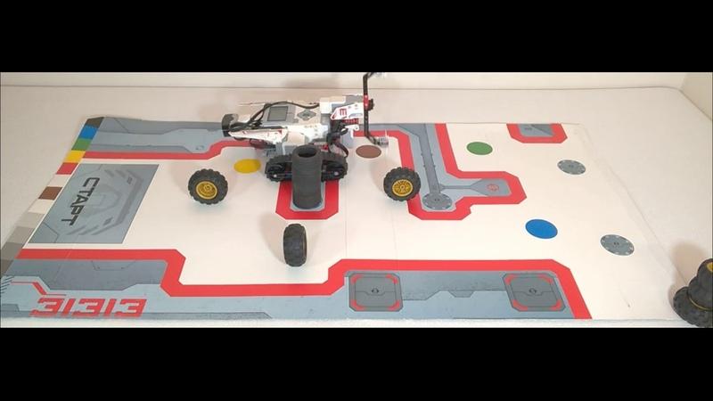 Уроки EV3 5 2 Циклы Движение робота EV3 по квадрату