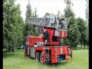 Развертывание пожарного расчета г.Жлобин / Deployment of fire brigade in Zhlobin