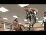 HARASHIMA, Meiko Satomura vs. Mizuki Watase, Shigehiro Irie (DDT - Road to Ryogoku 2018 ~ Dramatic Dream Taiwan Ramen)