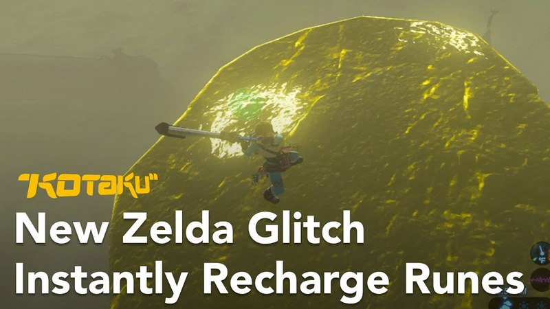 New Breath Of The Wild Glitch Lets You Instantly Recharge Runes