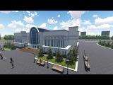 3D VIDEO: Строительство областной библиотеки Уральск