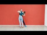 Bachata beginners combo. Max&Daria