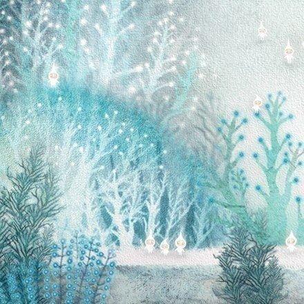 Зимние иллюстрации от Лисы Эванс #art@iloveart