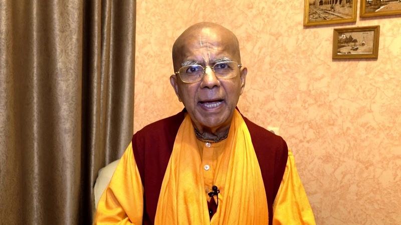 Благословения проекту Кришна ТВ от Е.С. Гопала Кришны Госвами