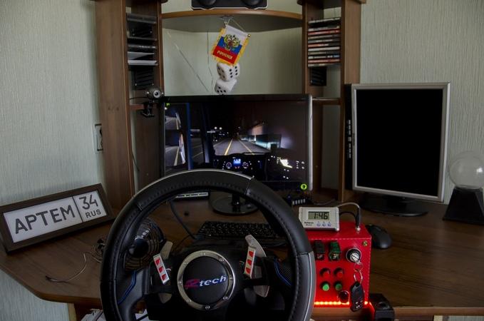 Euro Truck Simulator 2 Multiplayer gameplay Logitech G27 Custom