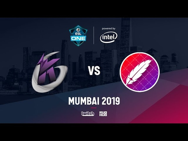 Keen Gaming vs The Pango ESL One Mumbai 2019 bo3 game 2 Inmate Mortales