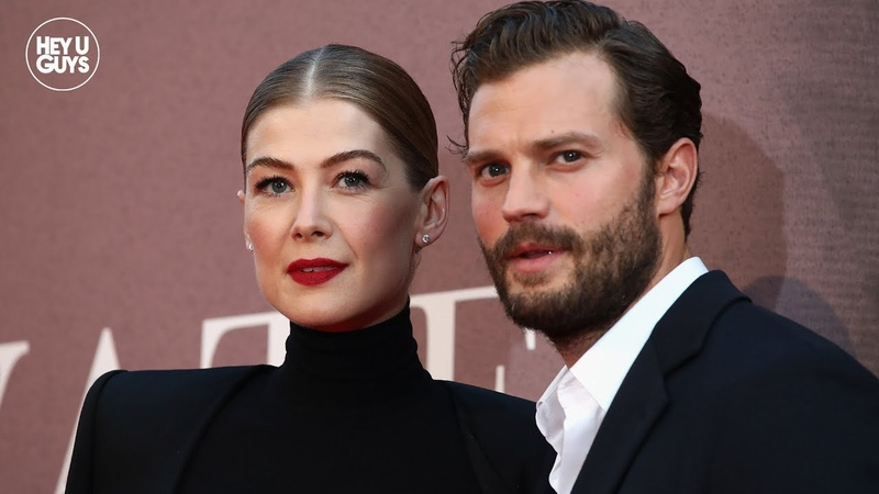 Jamie Dornan Rosamund Pike on the important message of A Private War LFF Premiere