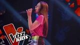 Alejandra canta When I Was Your Man Audiciones a Ciegas La Voz Kids Colombia 2019