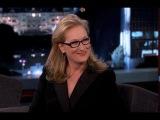 Meryl Streep on Jimmy Kimmel Live PART 2