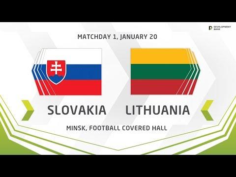 Development Cup - 2019. Slovakia - Lithuania