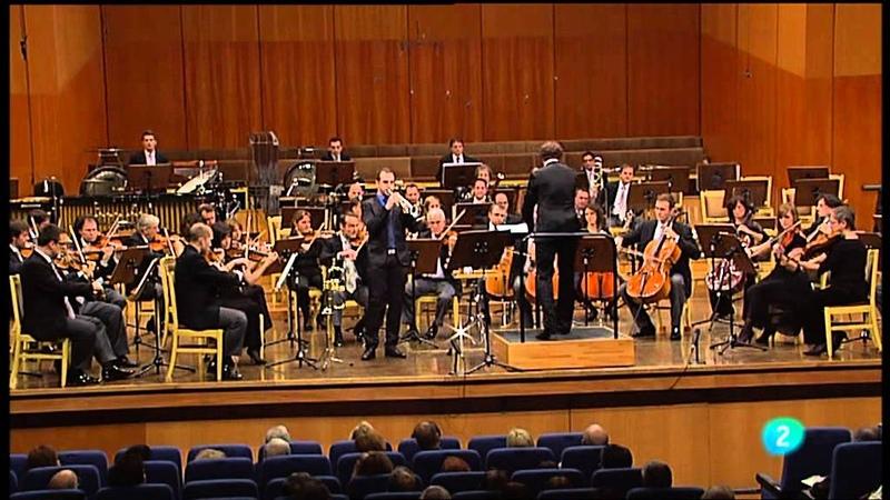 Manuel Blanco - Daniel Schnyder Trumpet Concerto - Andrés Salado - ORTVE - Piazzolla