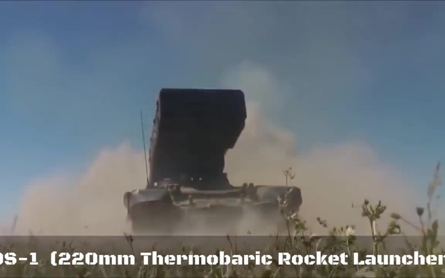 Реактивная система залпового огня ТОС-1 Буратино (Reactive system volley fire TOS-1 Buratino)