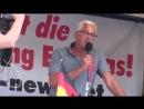 PEGIDA Dresden 20.08.2018 Wolfgang Taufkirch 'Wer die CSU wählt offene Grenzen