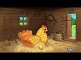 Сказка Курочка ряба, русская народная сказка, сказка про Курочку рябу, Детские сказки