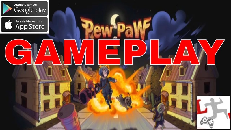 Pew Paw - Zombie survival IOS-Android-Review-Gameplay-Walkthrough