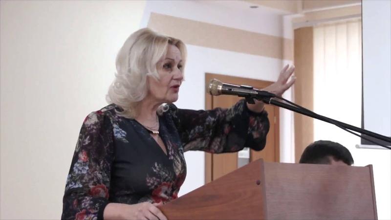 Відкрита лекція Ірини Фаріон, з теми «Основи культури мовлення»