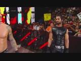 KA4KA.RU_(WWEWM)_WWE_Monday_Night_RAW_14.07.2014_-_John_Cena__amp__Roman_Reigns_vs._Kane__Randy_Orton__amp__Seth_Rollins_(3-on-2