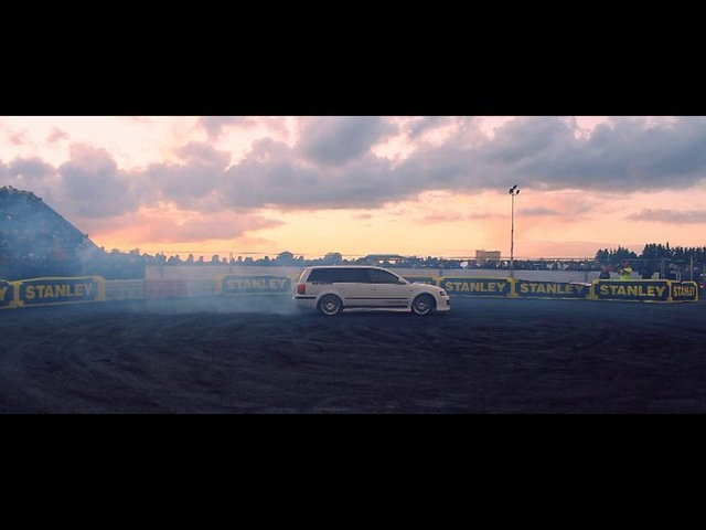 DRIFT video | Kim Richard Olsen | Passat V8 (RAW)