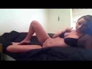 Брюнетка танцует стриптиз ,как сексуальная блондинка♥ [Красивая эротика](Порно, секс, минет, анал, куни, оргазм, сосет, эротика,