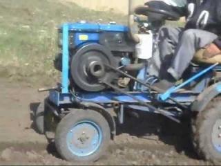 Мотоблок сельхоз работы