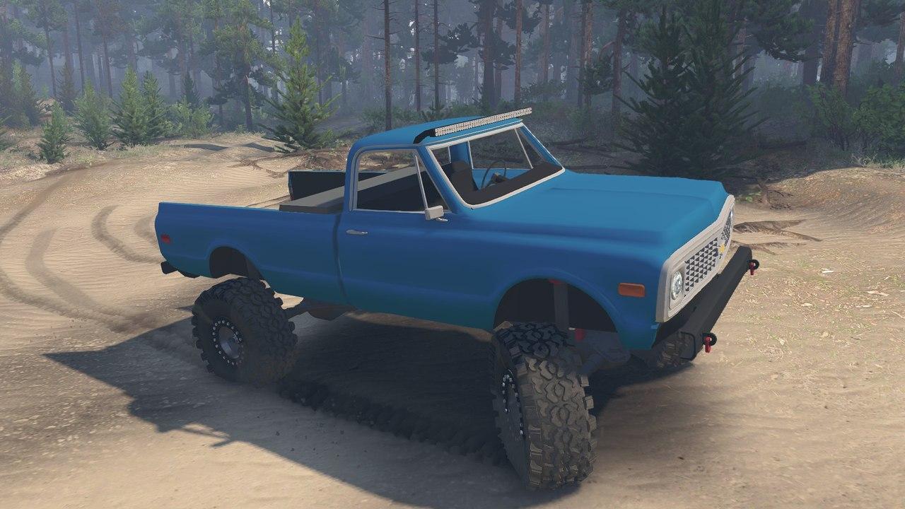 1972 Chevrolet Pickup для 23.10.15 для Spintires - Скриншот 2