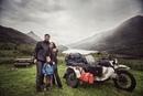 Семейная пара с ребёнком объехала Европу на мотоцикле