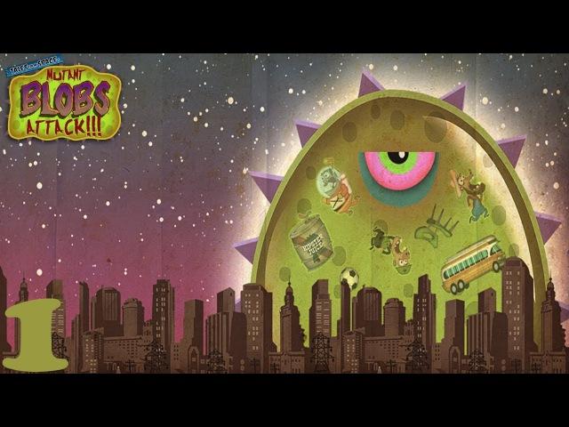 Tales from Space: Mutant Blobs Attack-Прохождение(Часть 1)