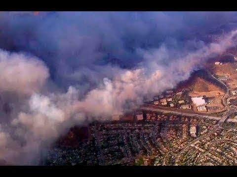 ПОЖАР В КАЛИФОРНИИ УНИЧТОЖАЕТ ЦЕЛЫЕ ГОРОДА! ГОРОД ПЕПЛА! Forest fires in California