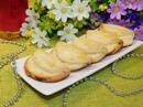 Песочное печенье с творожной начинкой