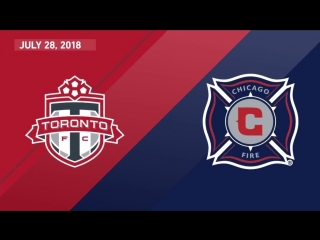 Match highlights_ chicago fire at toronto fc - july 28, 2018