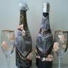 Декорирование бутылок, бокалов и др.подарков