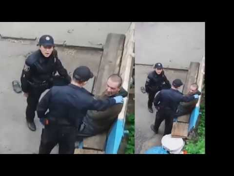 Как ведут себя полицаи, когда они думают, что их не видят май 2018