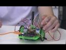 IT команда Кванториума работает над проектом Робот рисовальщик