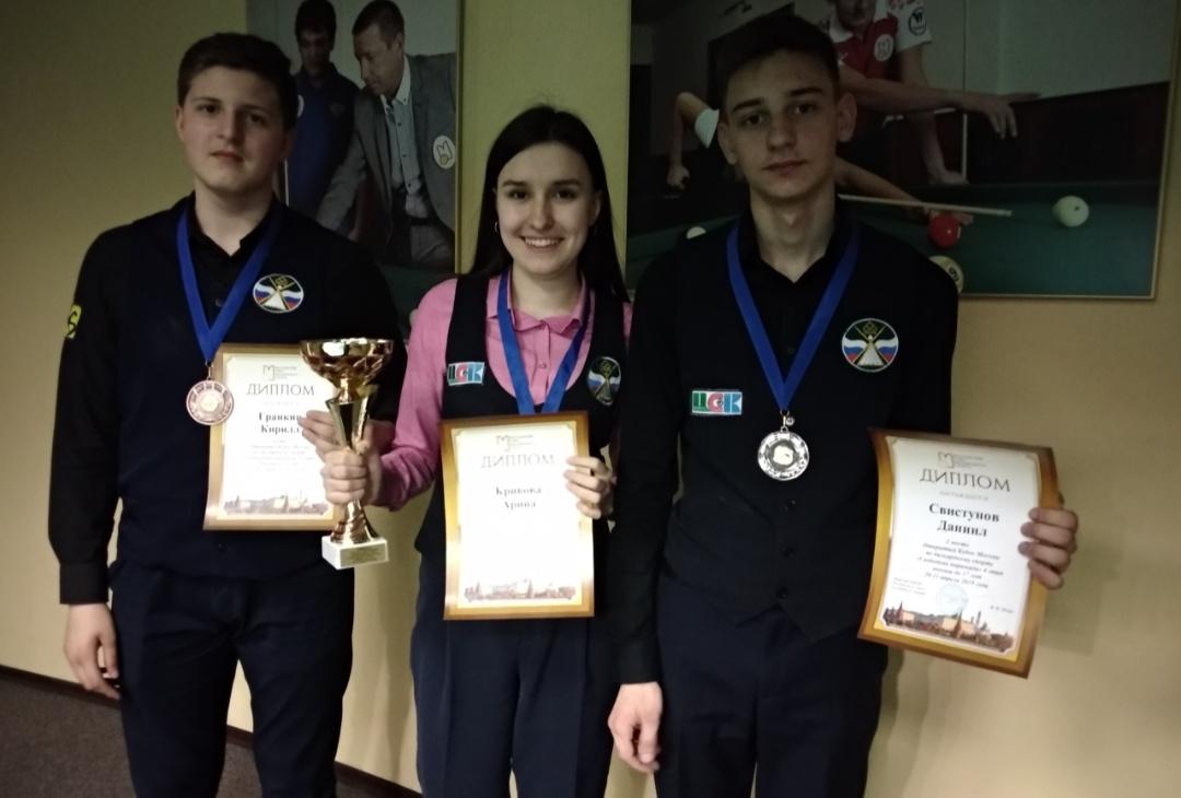 Рязанцы призёры