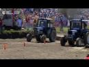 В Ростовской области прошли единственные в России гонки на тракторах Бизон-Трек-Шоу