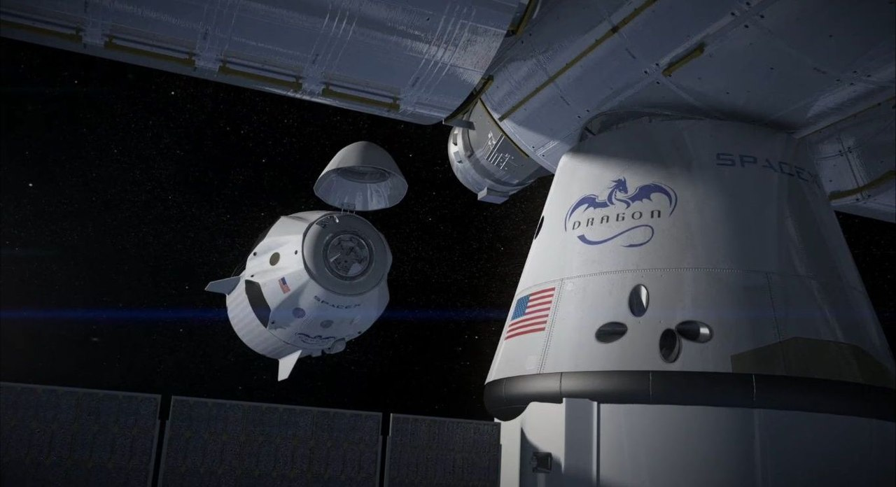 SpaceX Dragon V2  Flight Animation  YouTube