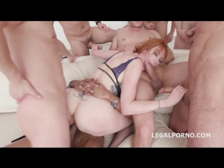 Рыжей суке разносят очко (new porn, gangbang, deep throat, blowjob,  hardcore, gonzi, big ass)