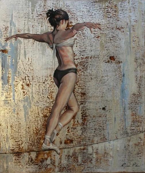 Известный британский художник Ричард Гилл (Richard P Gill